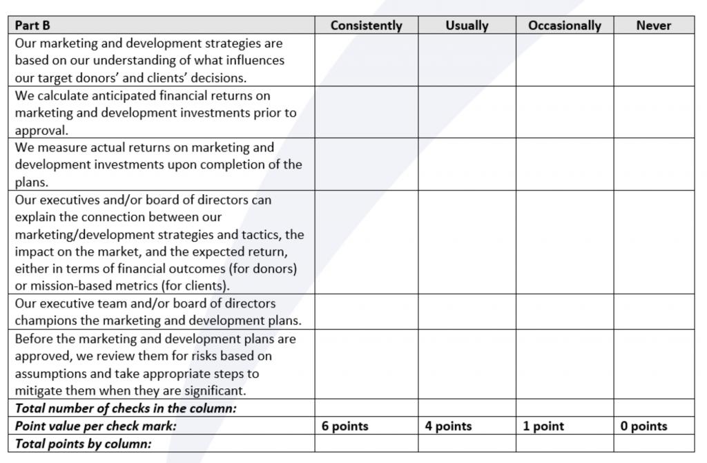Performance Evaluation of Marketing Plans Part B